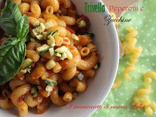 Trivella peperoni e zucchina