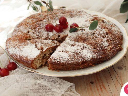 Torta morbida ciliegie e amarene