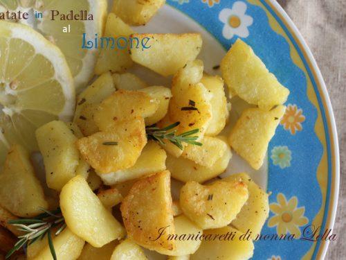 Patate in padella al limone