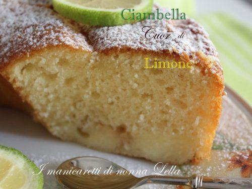 Ciambella cuor di limone