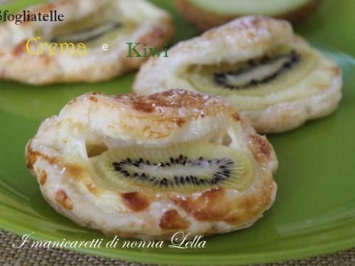 Sfogliatelle crema e kiwi