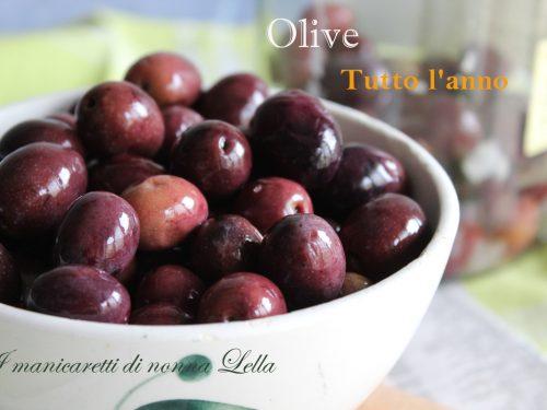Olive tutto l'anno