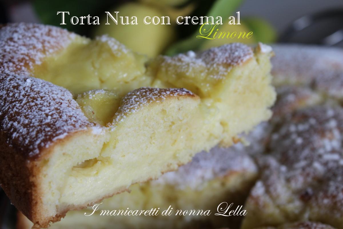 Torta Nua con crema al limone