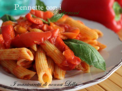 Pennette con i peperoni