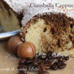 Ciambella cappuccino panna e caffè
