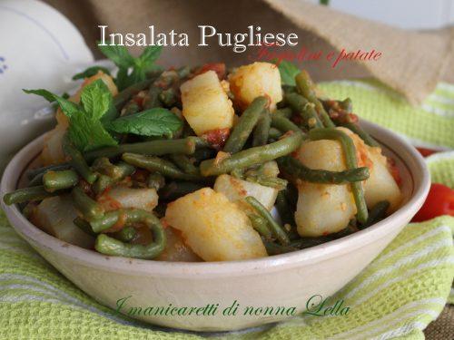 Insalata Pugliese fagiolini e patate