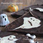 Ricetta cioccolatini fantasma