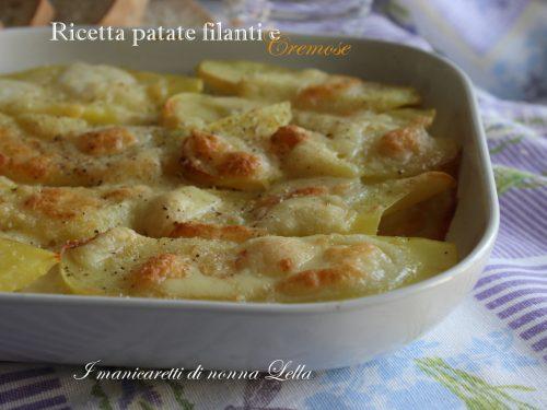 Ricetta patate filanti e cremose