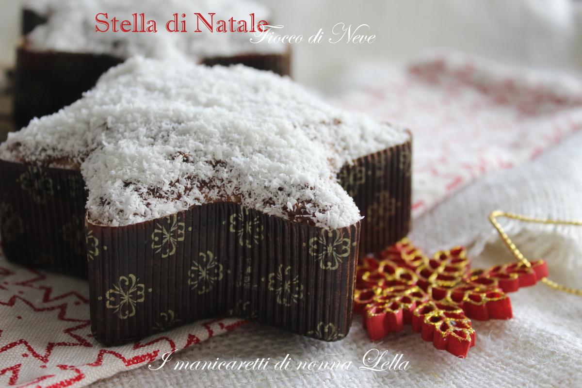 Stella di Natale fiocco di neve