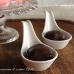 Ricetta cheesecake monoporzione al cioccolato