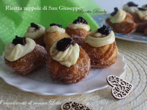 Ricetta zeppole di San Giuseppe ricetta bimby