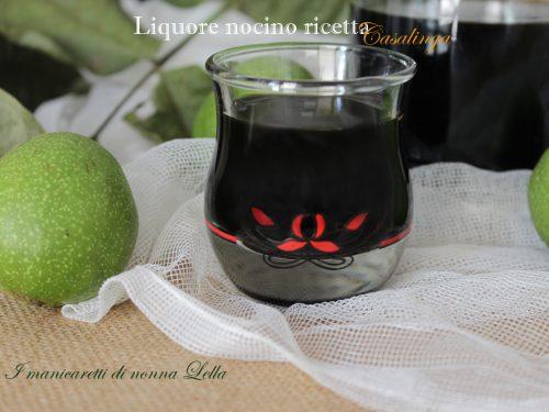 Liquore nocino ricetta casalinga