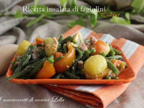 Ricetta insalata di fagiolini estiva