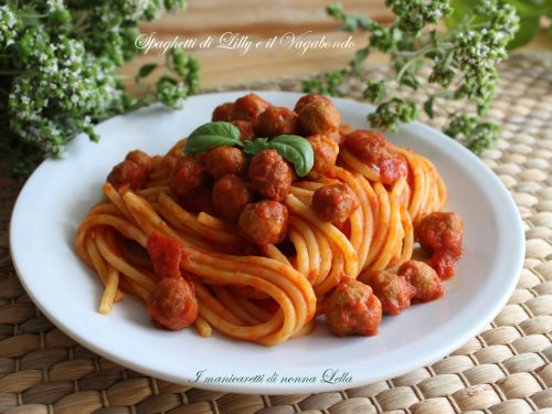 Spaghetti di Lilly e il Vagabondo