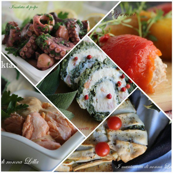 Antipasti di natale tante ricette facili e veloci di for Ricette veloci pesce