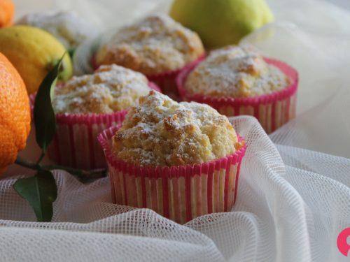 Muffin agli agrumi ricetta morbidosa