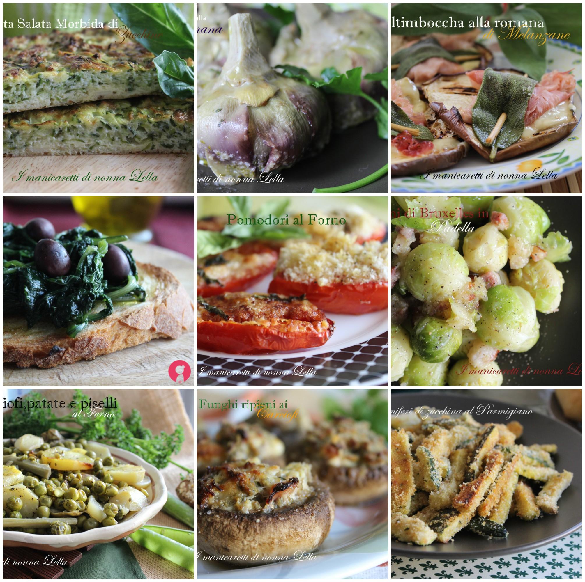 40 ricette con le verdure facili light per contorno for Ricette con verdure