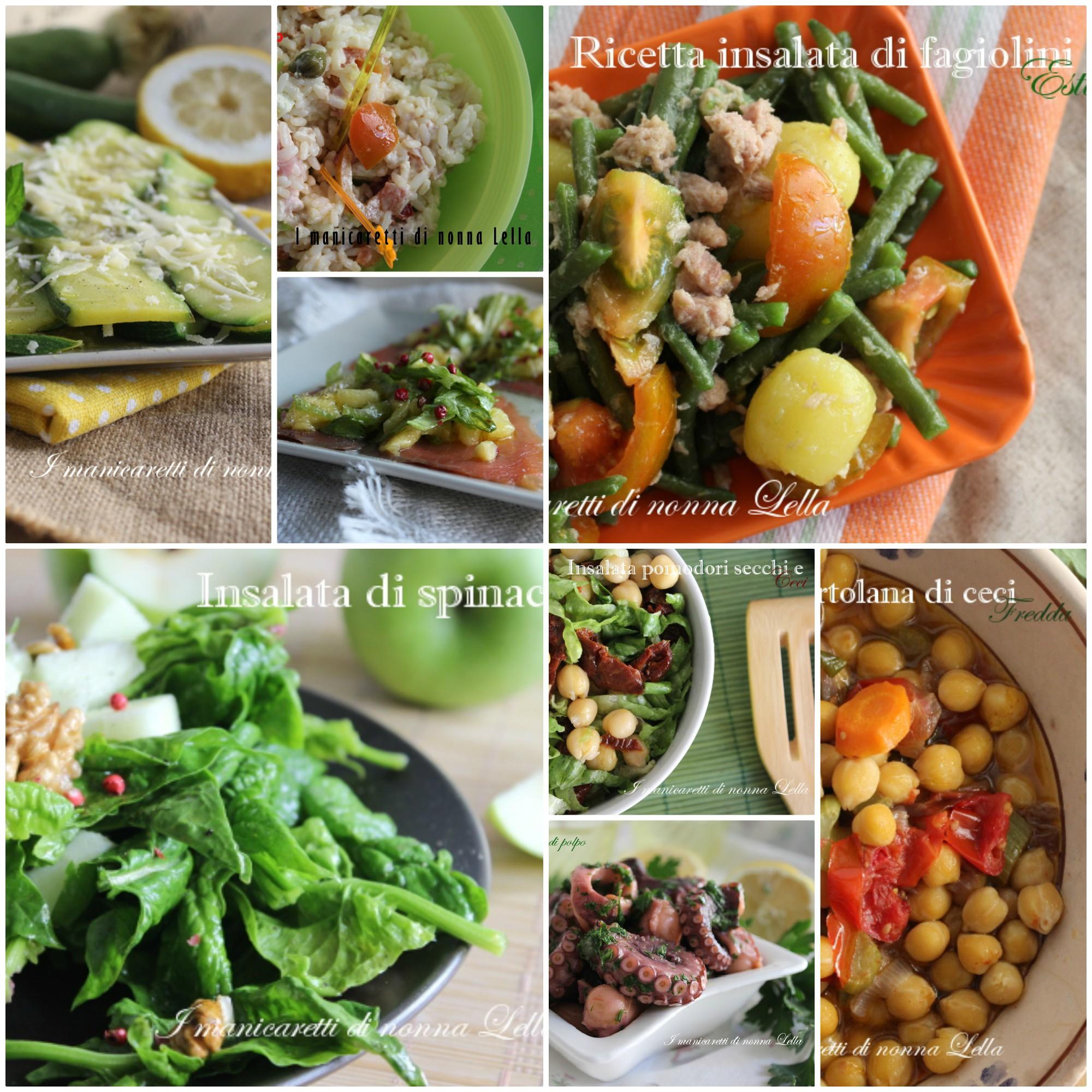 Piatti Freddi Veloci Da Asporto 10 insalate per tutti i gusti, piatti freddi, primi da