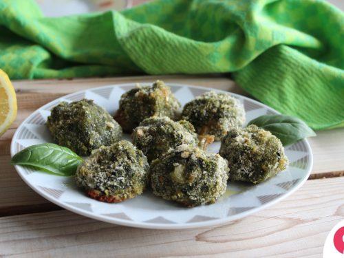 Sospiri agli spinaci