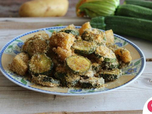Patate e zucchine sabbiose