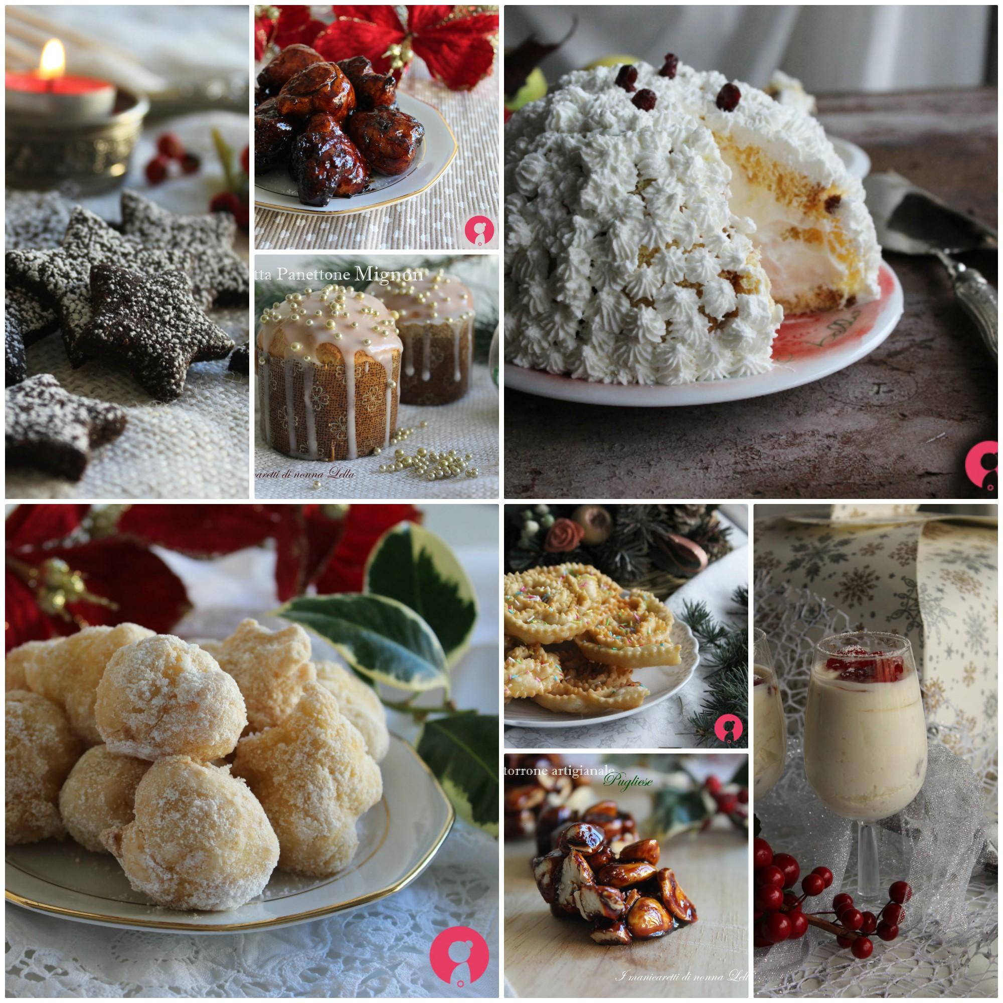 Ricette Dolci Tipici Di Natale.Ricette Dolci Di Natale I Manicaretti Di Nonna Lella