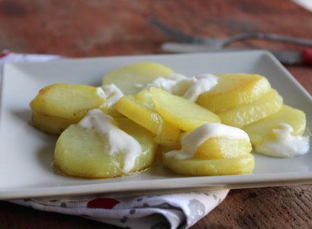 Patate filanti in padella