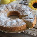 Ciambella cuore di limone, torta facilissima