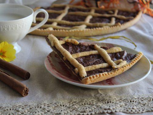 Crostata alla Nutella ricetta facile e veloce bimby