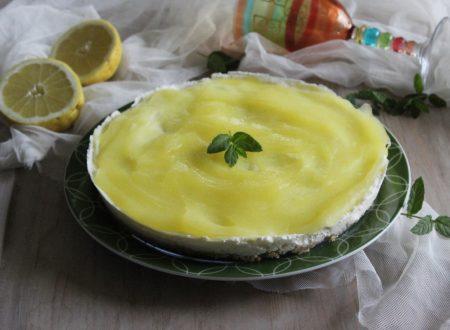 Cheesecake al limone senza cottura e gelatina