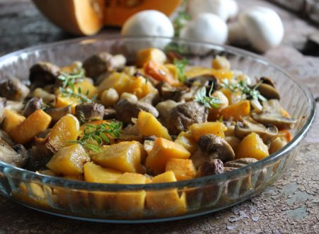 Zucca contorno ricetta vegana