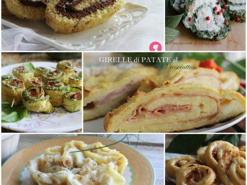 Ricette girelle dolci e salate