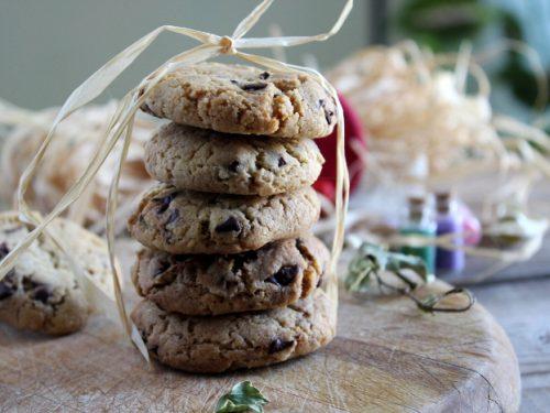 Ricetta cookies biscotti al burro con gocce di cioccolato