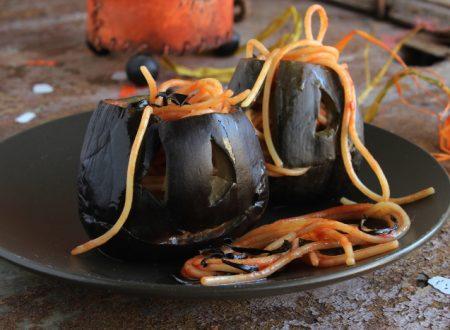 Melanzane all'assassina ricetta per Halloween