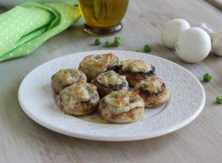 Funghi champignon al forno cremosi