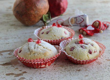 Come fare i muffin con la melagrana