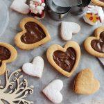 Biscotti di frolla ripieni