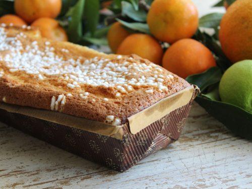 Plumcake al mandarino ricetta senza burro soffice umida