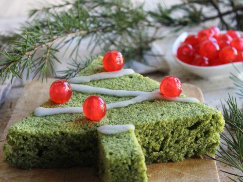 Ricetta albero di Natale dolce agli spinaci