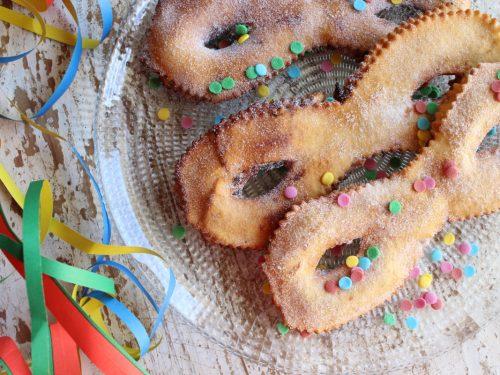Ricetta maschere di Carnevale dolci al Limoncello farcite senza burro