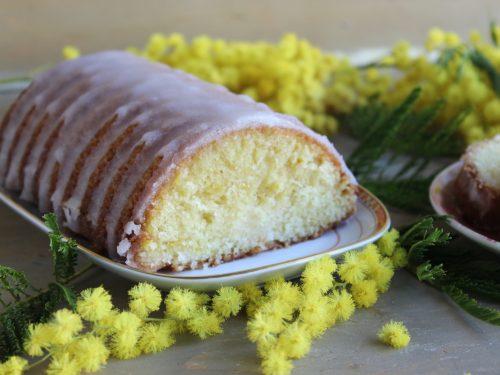 Plumcake festa della donna lemon pound cake ricetta facile