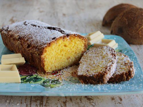 Plumcake al cocco e cioccolato bianco ricetta semplice e veloce