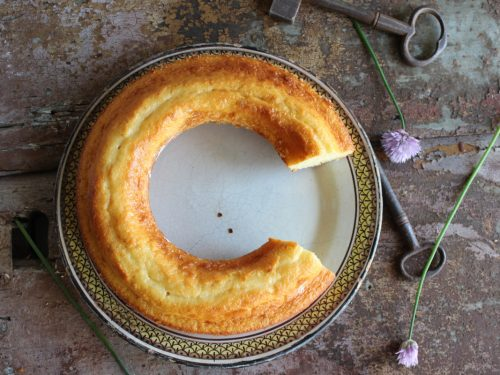 Ciambella senza burro allo yogurt e limone simil Mulino Bianco leggera