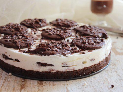 Semifreddo Pan di Stelle cheesecake torta fredda senza cottura dessert