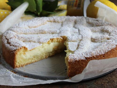 Crostata al limone cremosa morbida ricetta perfetta ripiena con crema