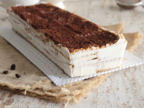 Mattonella al caffè con biscotti Oro Saiwa e ricotta ricetta semifreddo dolce