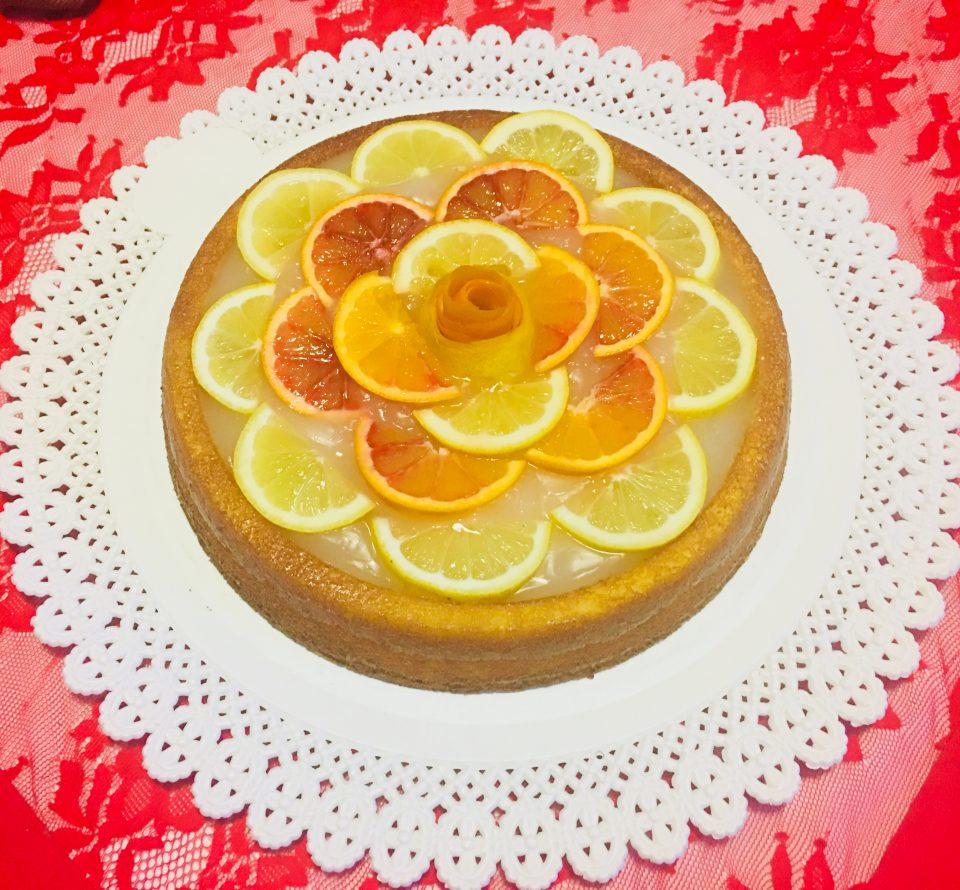 Crostata morbida con limoni e arancie Bioexpress
