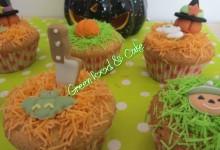 Cup cake di Halloween alla cannella
