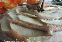 Torta di mele e cannella, senza grassi