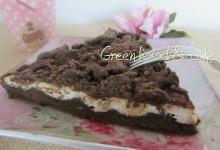 Torta sbrisolona al cioccolato e ricotta