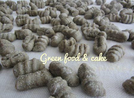 Gnocchi di patate e grano arso